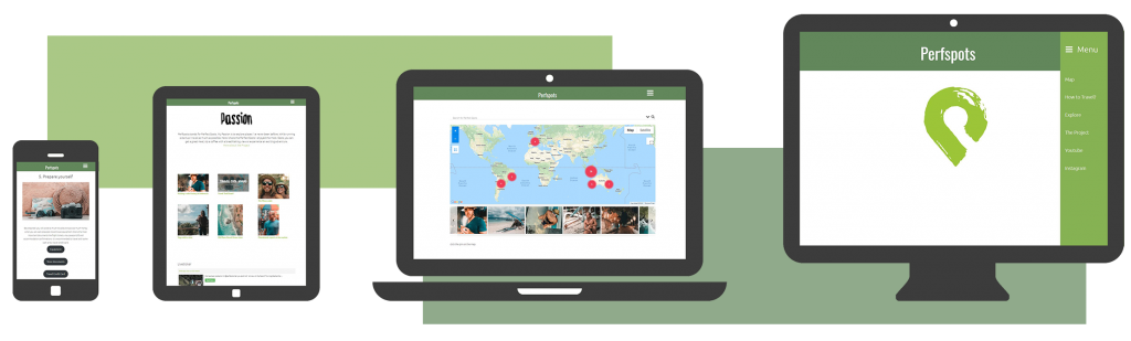 webdesign reiseblog