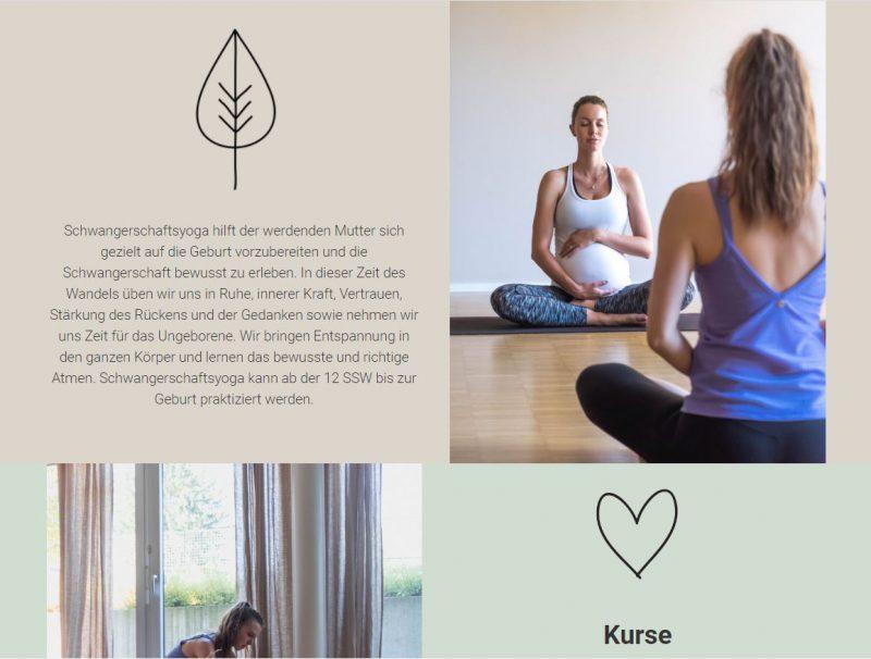 webdesign yoga