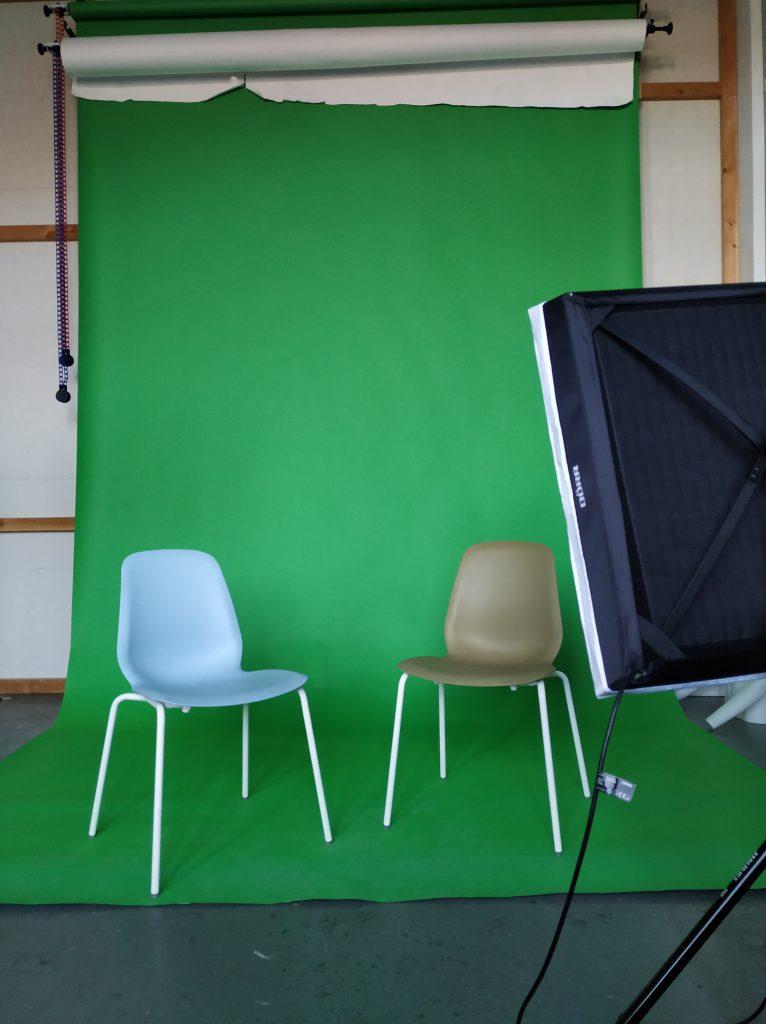 green screen werbung